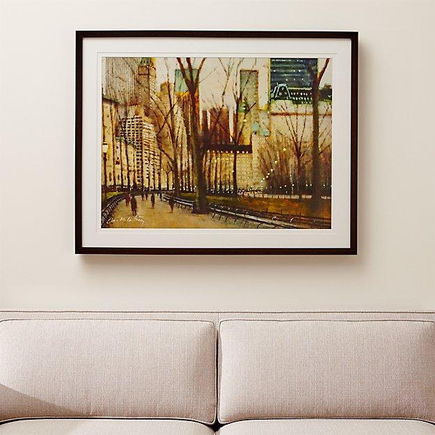 Twilight Central Park Print