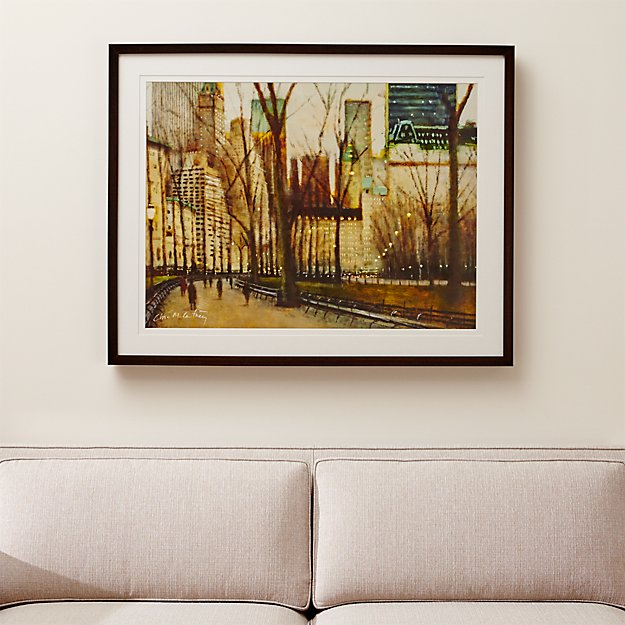 Central park wall art reviews crate and barrel