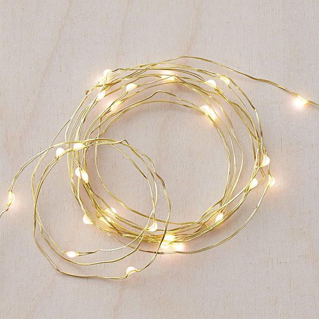 Twinkle Gold 10' String Lights
