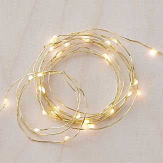Twinkle Gold 50' String Lights