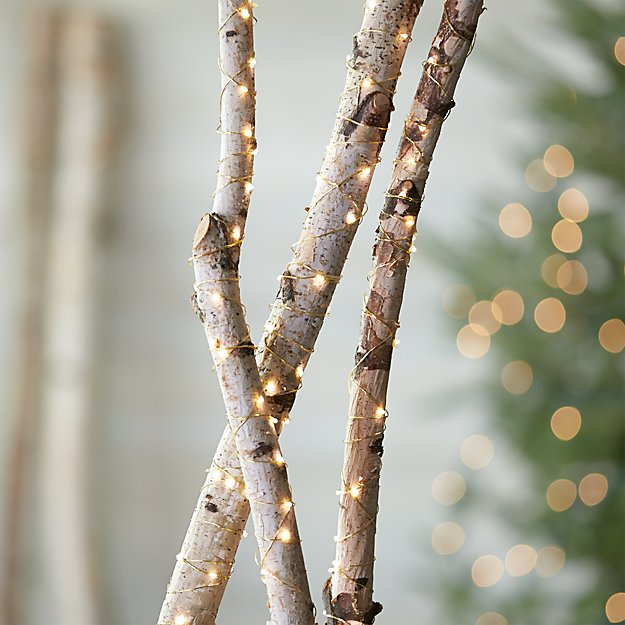 Twinkle Gold String Lights Crate And Barrel