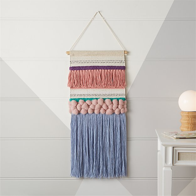 Textured Woven Wall Hanging Reviews Crate And Barrel