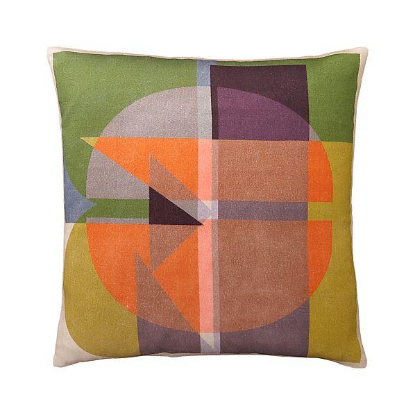 """Typology 16"""" Pillow"""