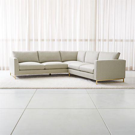 Tyson 2 Piece Left Arm Corner Sofa