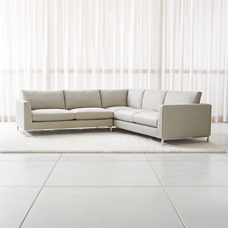 Tyson 2 Piece Right Arm Corner Sofa