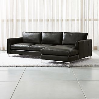 black leather sofas crate and barrel rh crateandbarrel com leather sofa black and white leather sofa black and white
