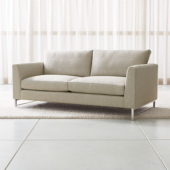 Tyson Apartment Sofa with Stainless Steel Base
