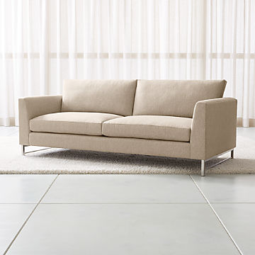 Pleasing Sofas Couches And Loveseats Crate And Barrel Machost Co Dining Chair Design Ideas Machostcouk
