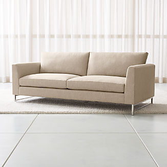 Tyson Sofa with Stainless Steel Base