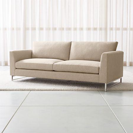 Outstanding Tyson Sofa With Stainless Steel Base Creativecarmelina Interior Chair Design Creativecarmelinacom