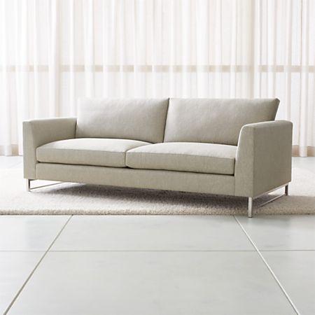 Sensational Tyson Sofa With Stainless Steel Base Ibusinesslaw Wood Chair Design Ideas Ibusinesslaworg