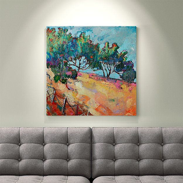 Mountain Pass Trees - SOLD