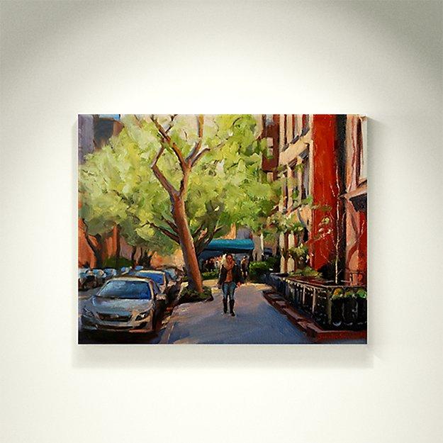 A Quiet Street in Manhattan - SOLD