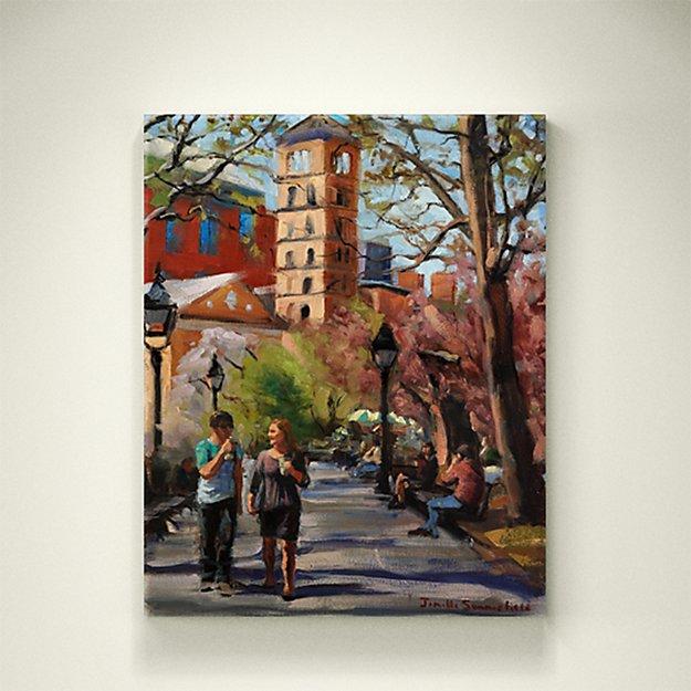 April in Washington Square Park - SOLD