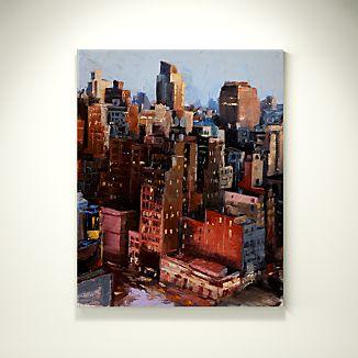 Dusk in Manhattan - SOLD