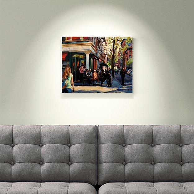 Sidewalk Cafe in Greenwich Village
