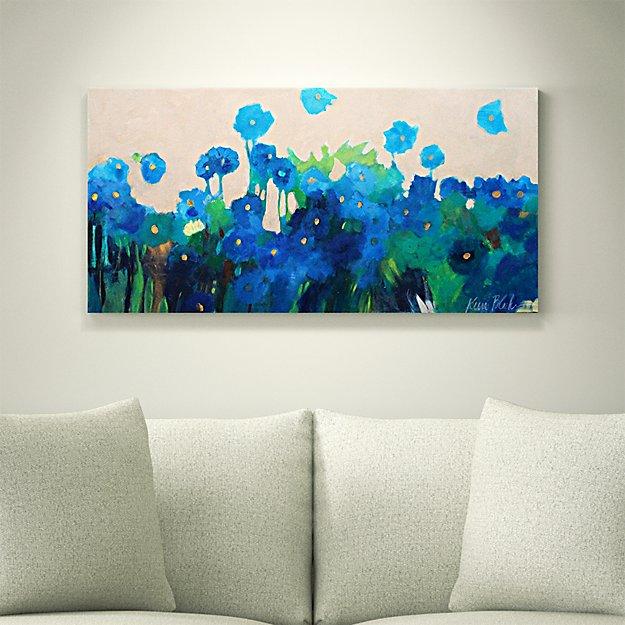 Blue Wildflowers - SOLD