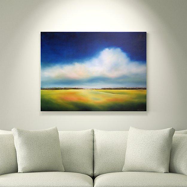 Cloud in Cobalt Sky - SOLD