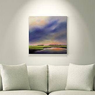 Purple Sky, Marsh Light