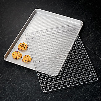 USA Large Cookie Sheet with Cooling Rack
