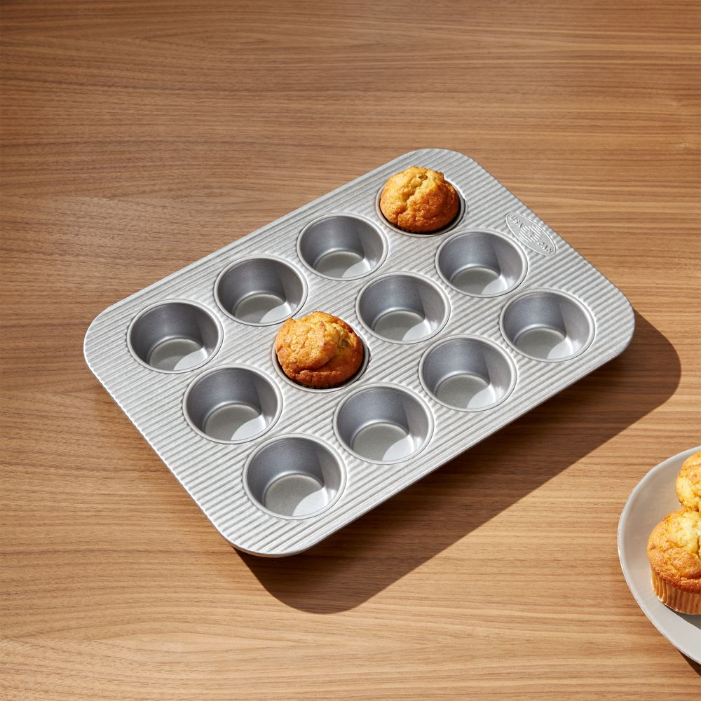 USA Pan Pro Line Non-Stick Muffin Pan - Crate and Barrel