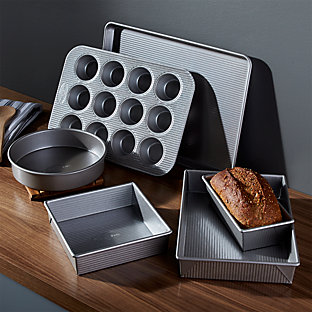 Usa pan pro line nonstick loaf pan crate and barrel for Perfect bake pro review