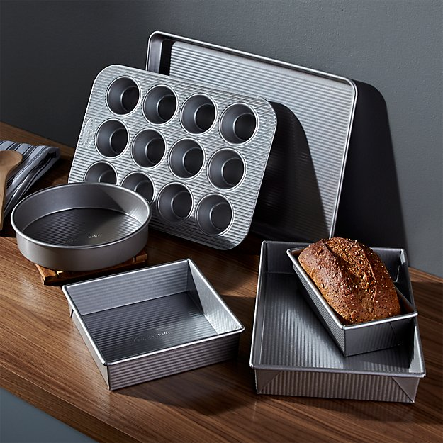 Usa Pan Pro Line 6 Piece Bakeware Set Crate And Barrel