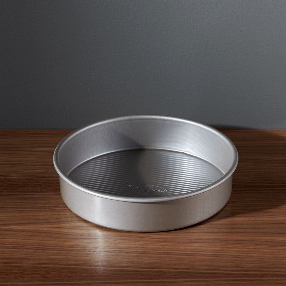 USA Pan Pro Line Non-Stick Round Cake Pan - Crate and Barrel