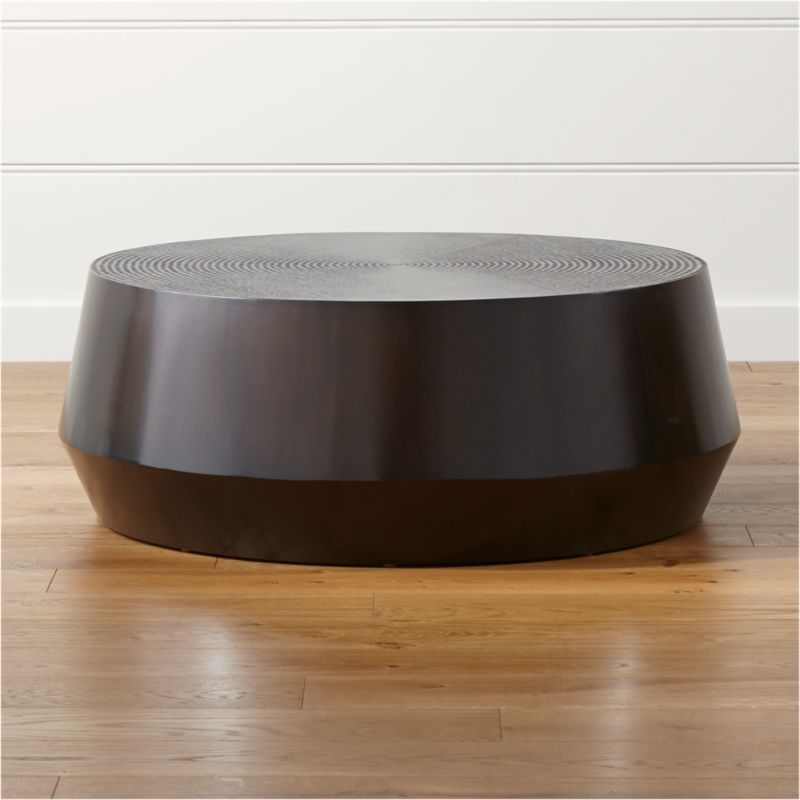 Udan Round Coffee Table in Coffee Tables Reviews Crate and Barrel
