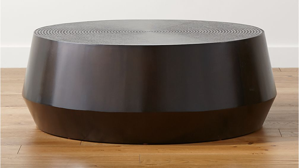 Udan Round Coffee Table + Reviews | Crate and Barrel
