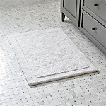 Ultra Spa White 24 x36  Bath Rug