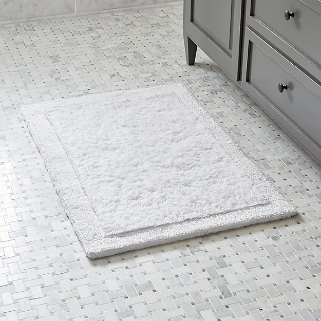 "Ultra Spa White 24""x36"" Bath Rug"