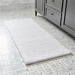 Ultra Spa White 24 x60  Bath Rug