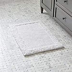 Ultra Spa White 20 x30  Bath Rug