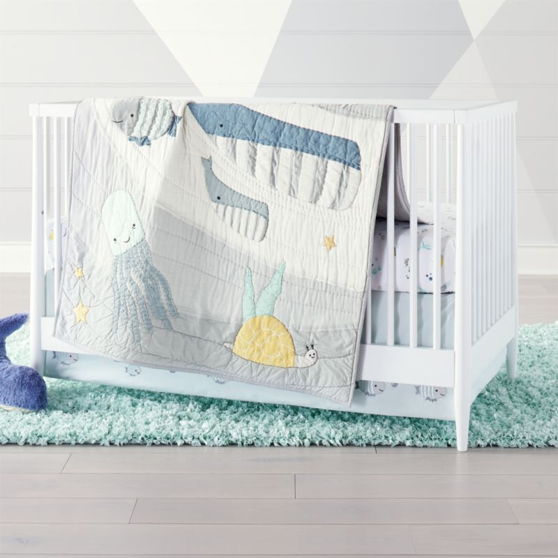 Under The Sea Crib Bedding Crate And