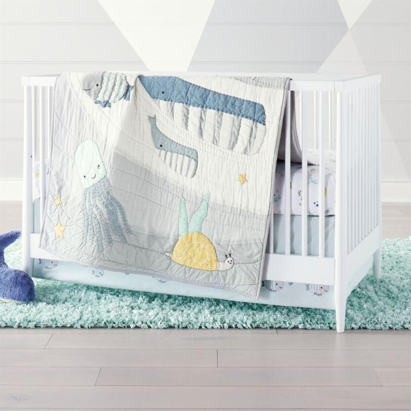 Ocean Themed Crib Bedding Clothing, Beach Themed Baby Crib Bedding