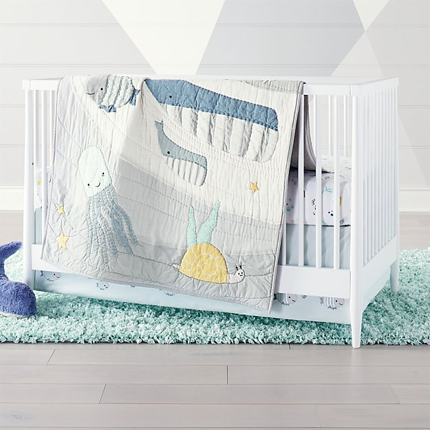 Under The Sea Crib Bedding Crate And Barrel