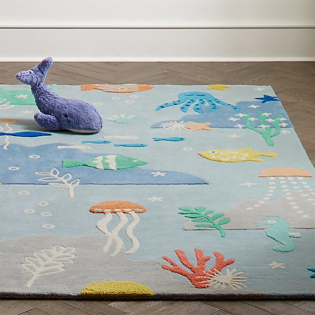 Under The Sea Rug Crate And Barrel