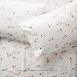 Organic Unicorn Sheet Set