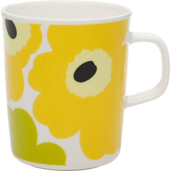 Marimekko Unikko Lime Mug