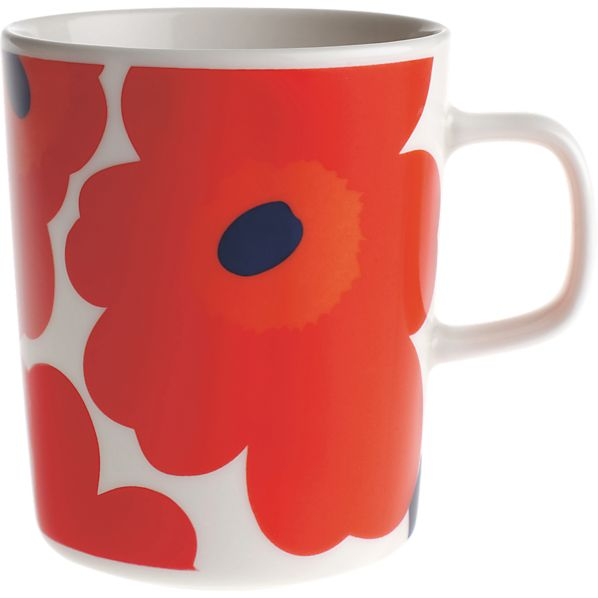 Marimekko Unikko Red Mug