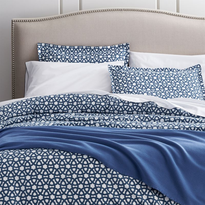 Union Square Duvet Cover and Pillow Shams. Bedding Collections  Bed Linens   Crate and Barrel