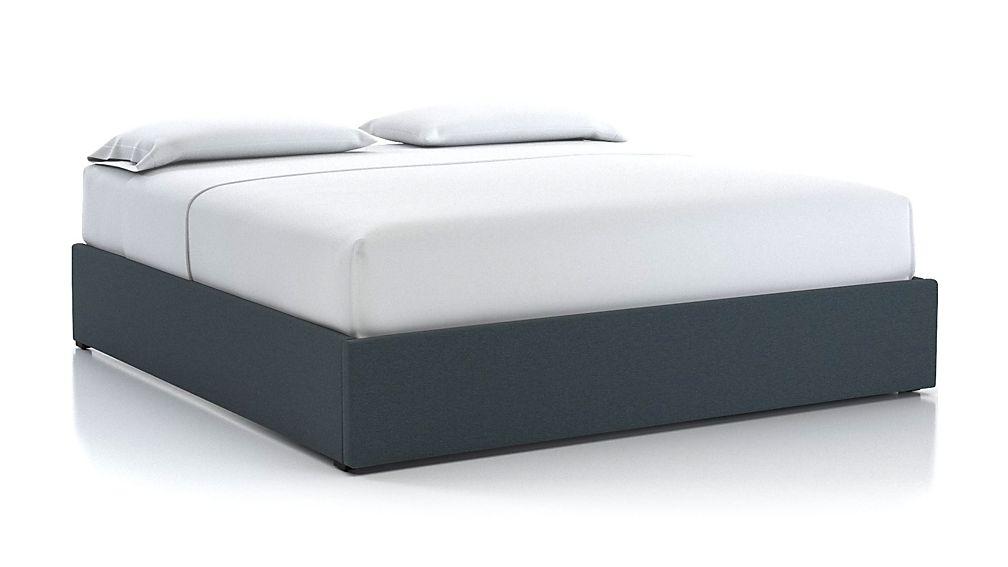 King Upholstered Gas-Lift Storage Bed Base - Image 1 of 5