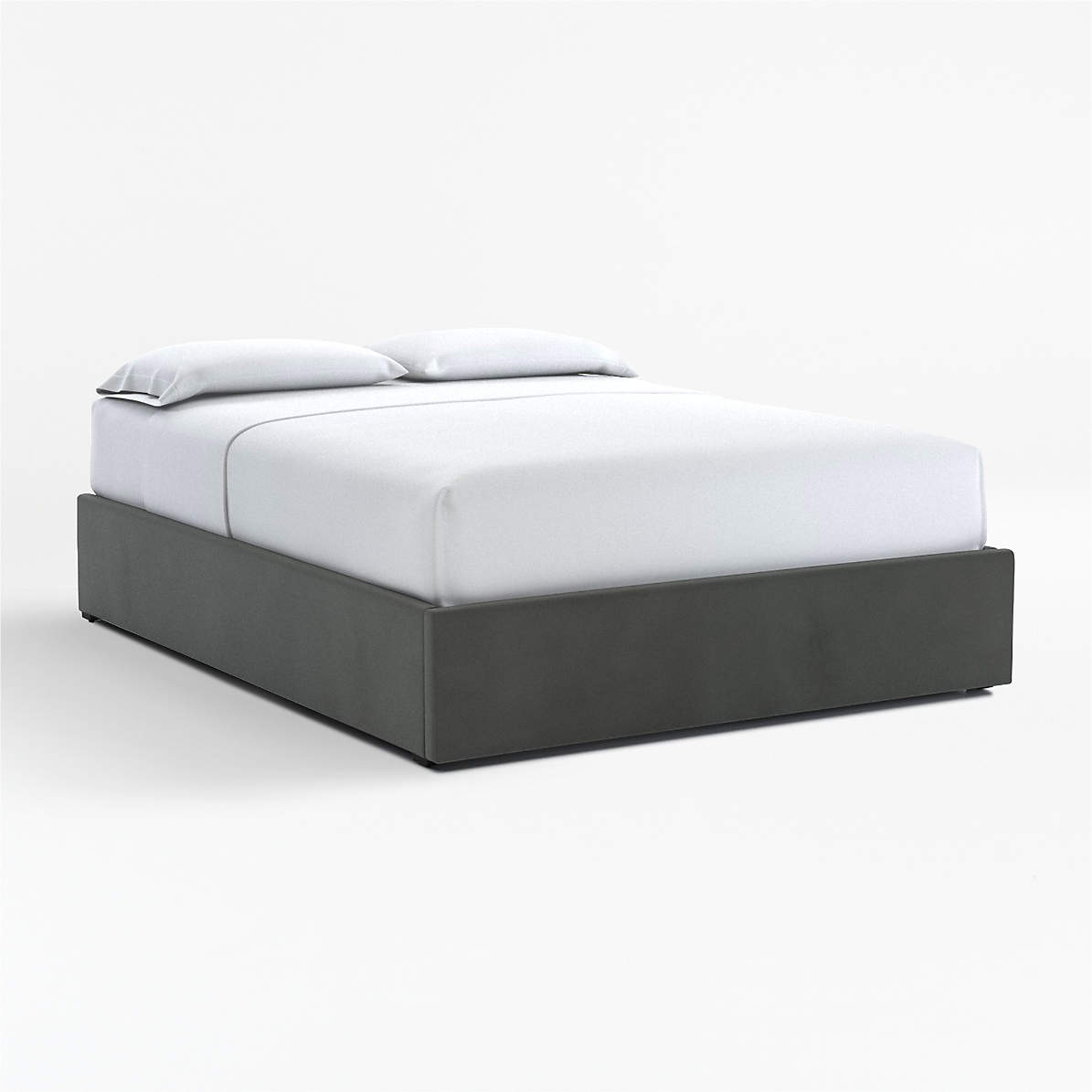 Upholstered Gas Lift Storage Bed Base Crate And Barrel Canada