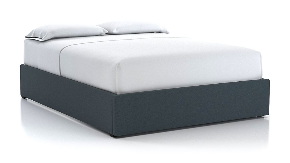 Queen Upholstered Gas-Lift Storage Bed Base - Image 1 of 5