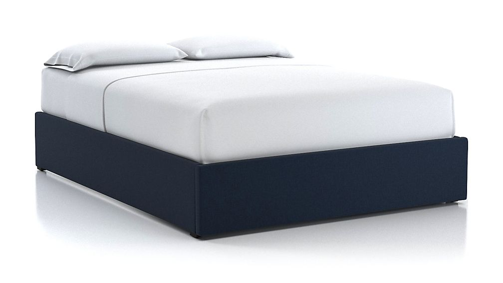 Queen Upholstered Gas-Lift Storage Bed Base Sapphire - Image 1 of 5