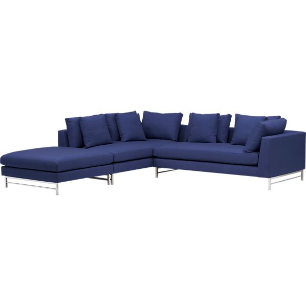 Uptown 3-Piece Right Arm Sectional Sofa