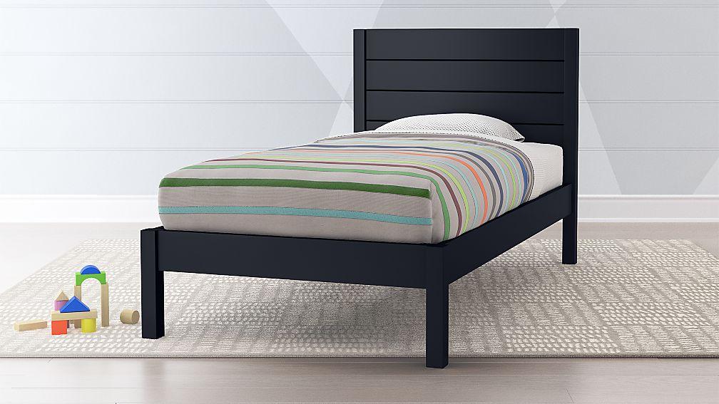 0d549719408 Uptown Navy Blue Kids Bed