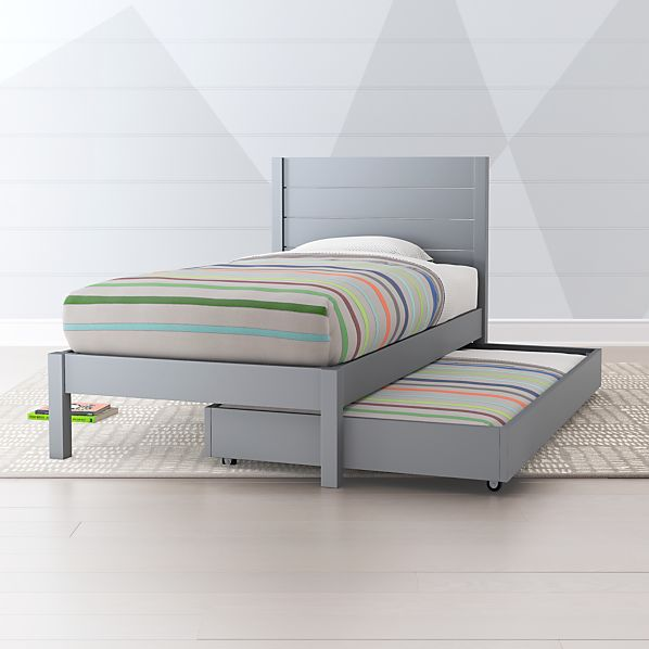 buy cheap f7741 421be Grey Trundle Bed