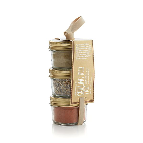 Urban Accents Grilling Rubs Trio